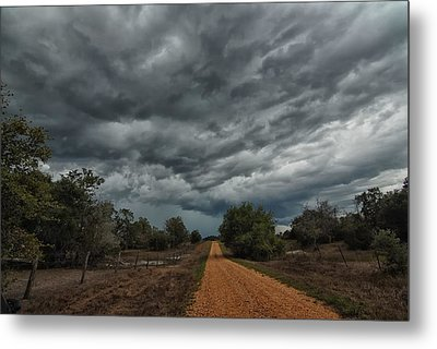 And Then The Rain Came Metal Print by Susan D Moody