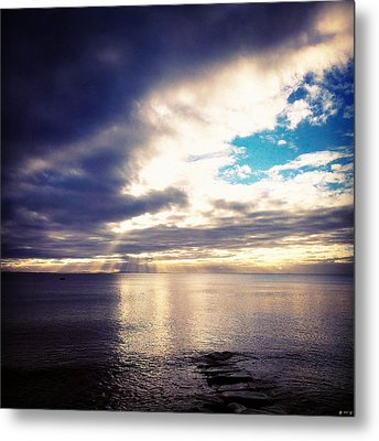 and Walk On Water Metal Print