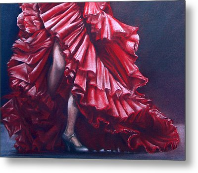 Andalucia Flamenco Metal Print by Rosemary Colyer
