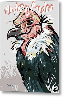 Andean Condor Metal Print