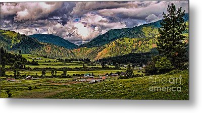 Anderson Creek Metal Print