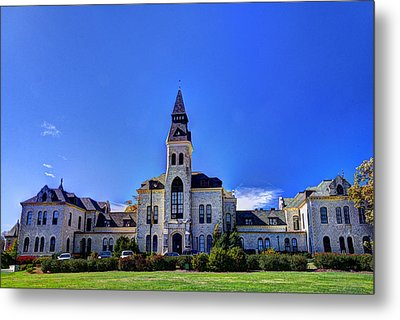 Anderson Hall At K-state Metal Print by Jean Hutchison