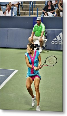 Andrea Petkovic Metal Print by Rexford L Powell