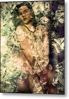 Androgyne Ice Metal Print
