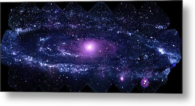 Andromeda Galaxy (m31) Metal Print by Nasa/swift/stefan Immler (gsfc) And Erin Grand (umcp)