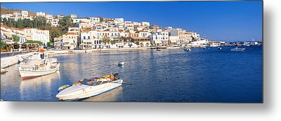 Andros, Cyclades, Greece Metal Print