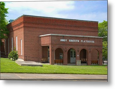 Andy Griffith Playhouse Nc Metal Print by Bob Pardue