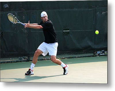 Andy Roddick  Metal Print by James Marvin Phelps