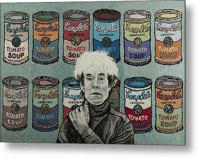 Andy Warhol Metal Print by Heidi Hooper
