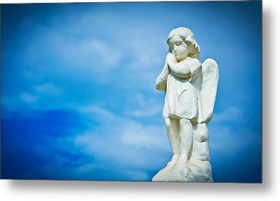 Angel Metal Print by Aged Pixel