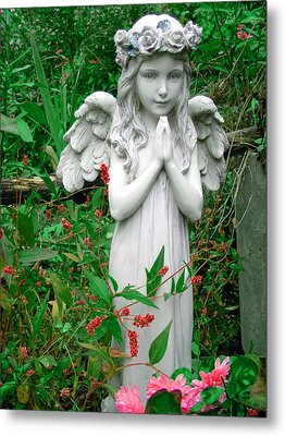 Metal Print featuring the photograph Angel by Aimee L Maher Photography and Art Visit ALMGallerydotcom