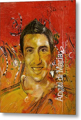 Angel Di Maria Metal Print