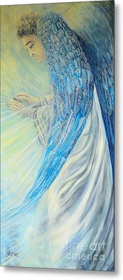 Angel Divine Metal Print by Caroline Street