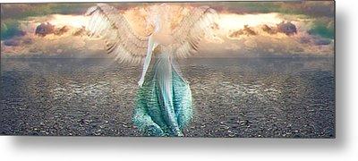 Angel Dream Metal Print by Li   van Saathoff