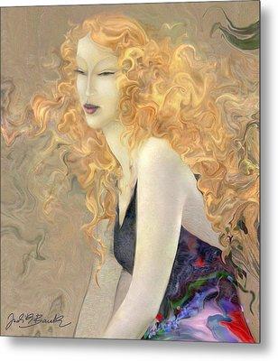 Angel Hair Metal Print