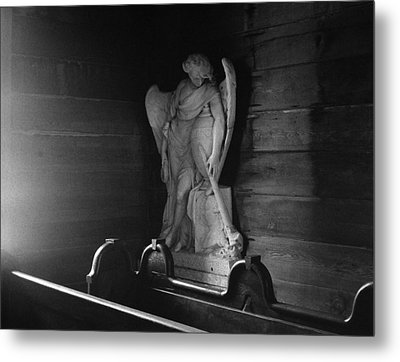 Angel In My Corner Metal Print