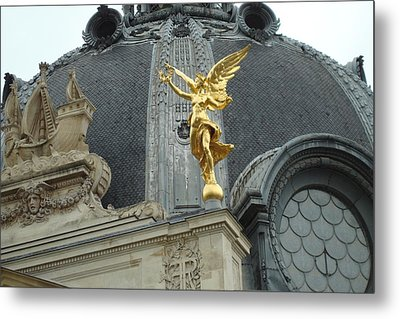 Metal Print featuring the photograph Angel In Paris by Kay Gilley