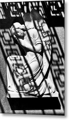 Angel In The Shadows 1 Metal Print