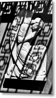 Angel In The Shadows 2 Metal Print by Swank Photography