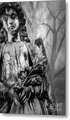 Angel In The Trees Metal Print by Sonja Quintero