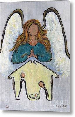 Angel - Messenger Of Joy Metal Print by Ella Kaye Dickey