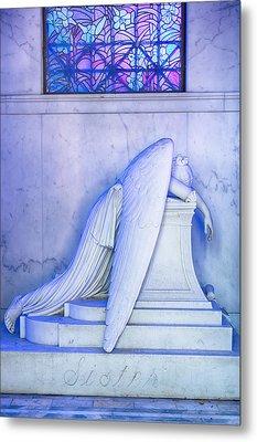 Angel Of Grief New Orleans 2 Metal Print