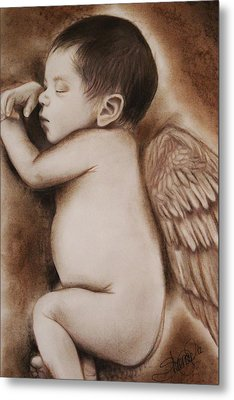 Angel Of My Tears Metal Print by Sheena Pike