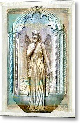 Angel Of Silence.genoa Metal Print