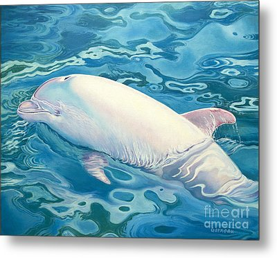 Angel Of Taiji Metal Print by Catherine Garneau