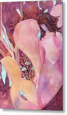 Angel Of The Sea Metal Print by Teri  Jones