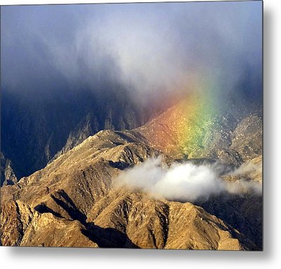 Angel On The Mountain  Metal Print by Patrick Morgan