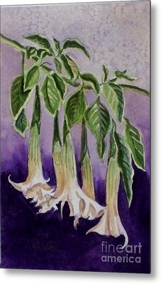 Angel Trumpets Metal Print