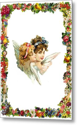 Angel Twin Metal Print