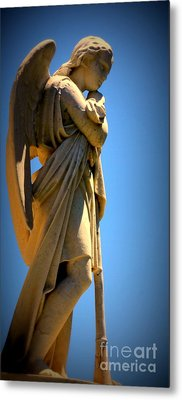 Angel Watching Metal Print by Lisa L Silva