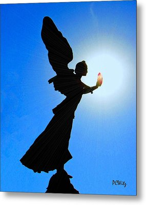 Metal Print featuring the photograph Angelic by Patrick Witz