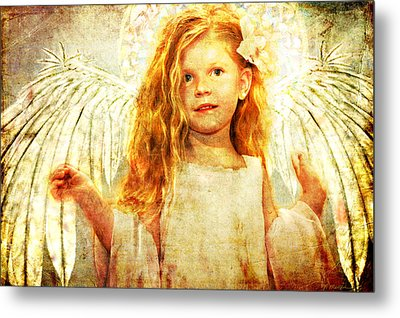 Angelic Wonder Metal Print