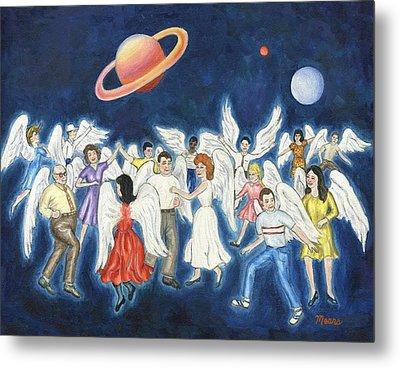 Angels Dancing Metal Print by Linda Mears