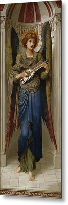 Angels Metal Print by John Melhuish Strudwick