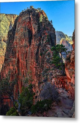Angel's Landing Metal Print by Chad Dutson