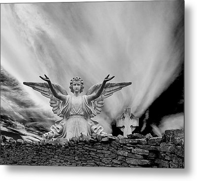 Angels Welcome Metal Print