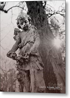 Angels Will Watch Over You Metal Print by Artist and Photographer Laura Wrede