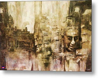 Angkor Metal Print by Catf