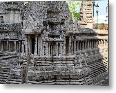 Angkor Wat Model - Grand Palace In Bangkok Thailand - 01133 Metal Print