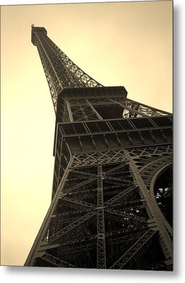 Angle Of The Tower Metal Print by Steven  Taylor
