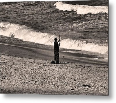 Metal Print featuring the photograph Angler by Bob Wall
