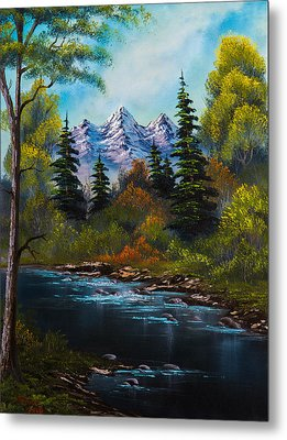 Fisherman's Retreat Metal Print by C Steele