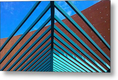 Metal Print featuring the photograph Angles by Richard Stephen