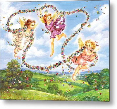 Angels Metal Print
