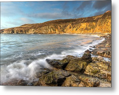 Anglesey Bay Metal Print by Adrian Evans