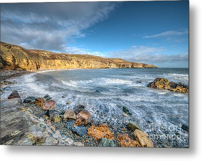 Anglesey Seascape Metal Print by Adrian Evans
